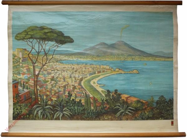 3 - Neapel mit Vesuv